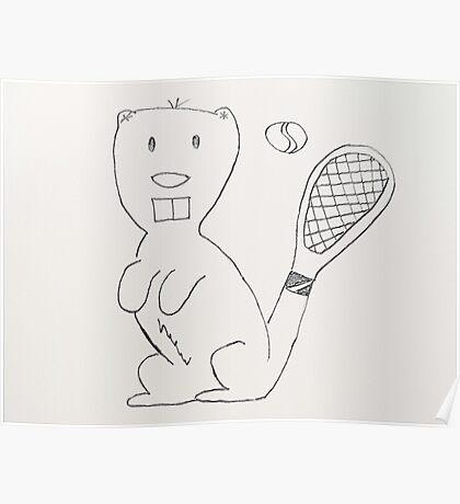 Any Beaver for Tennis?  Poster