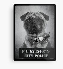Bad Dog Metal Print