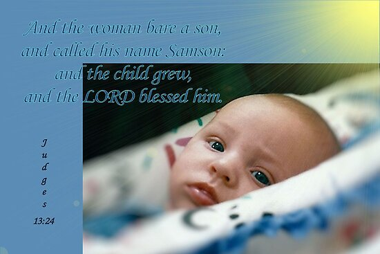 The Lord Blessed Him by aprilann