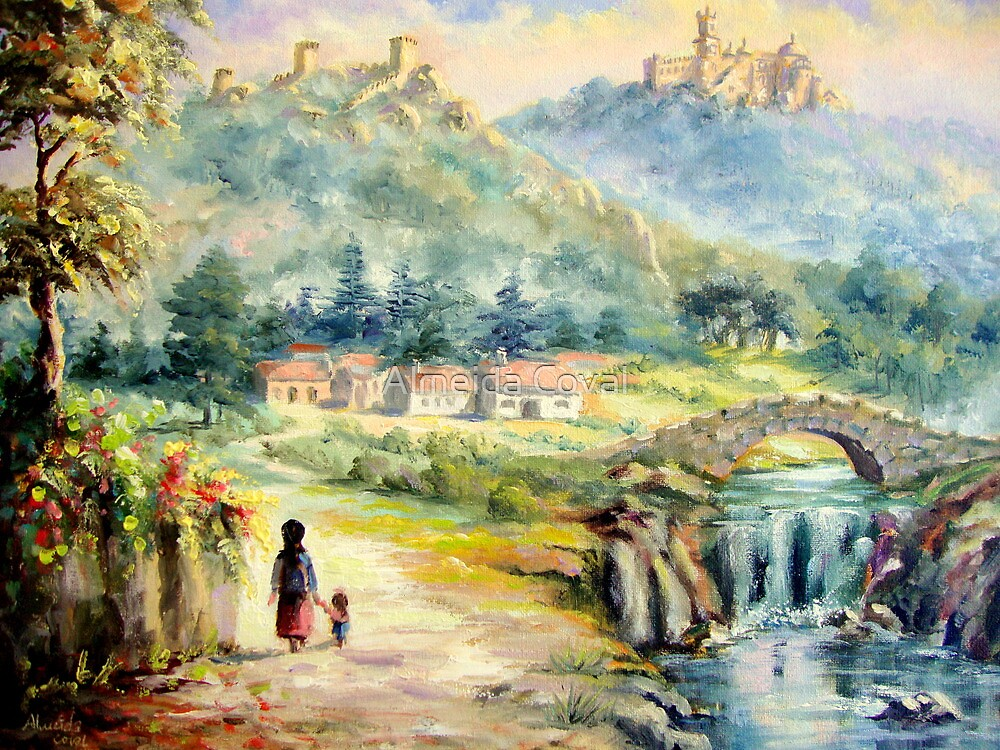 this glorious eden, called Sintra.. by Almeida Coval