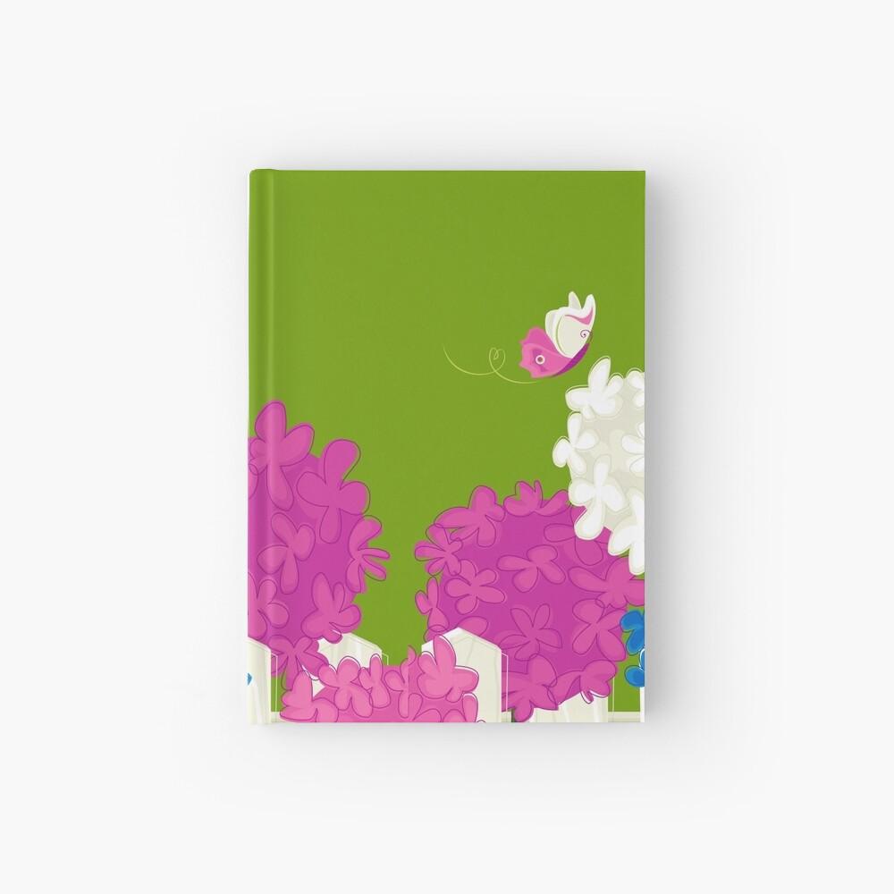 Flower Garden Hardcover Journal