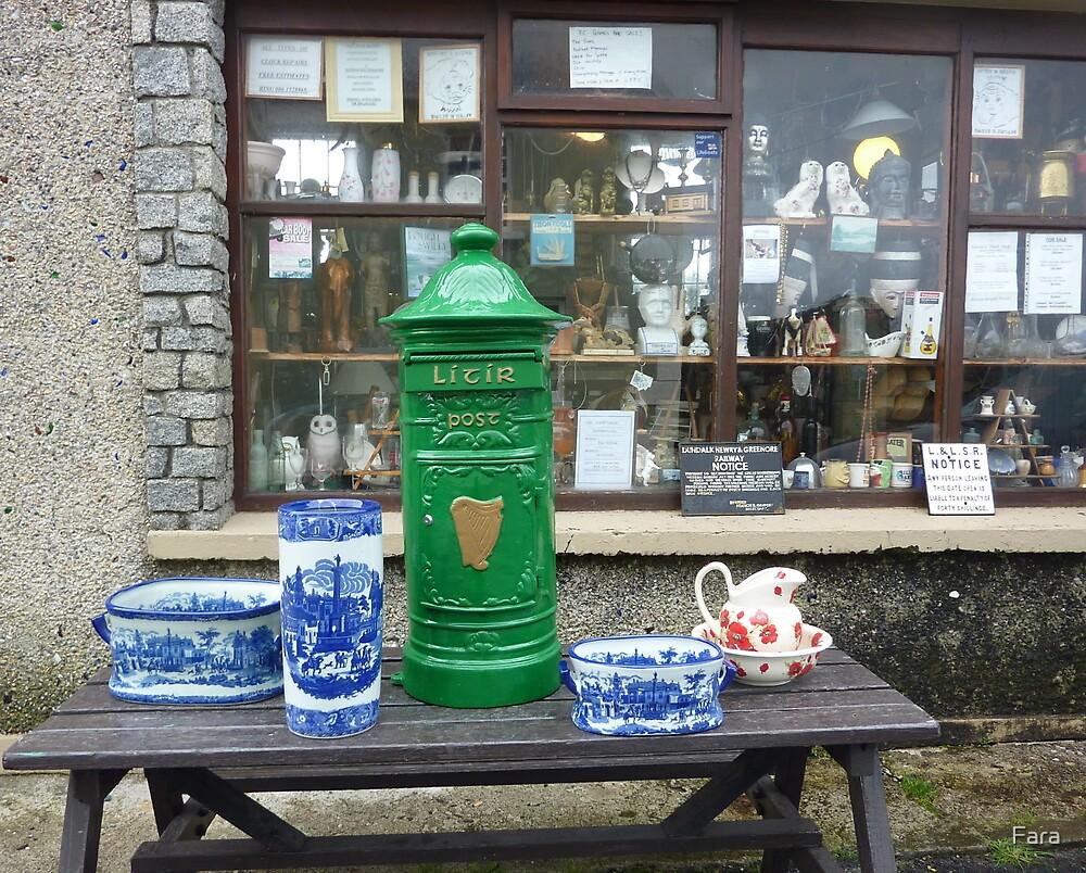 The Irish Antique Shop by Fara