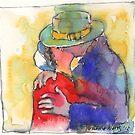 The Kiss by Yevgenia Watts