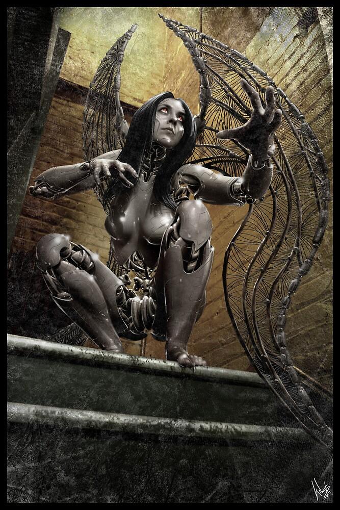 Cyberpunk Photography 020 by Ian Sokoliwski