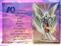 Angel of the LORD-Judges 6:22 by vigor