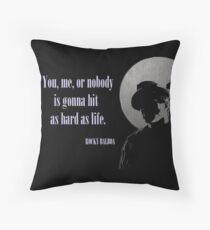 Rocky said.. Throw Pillow