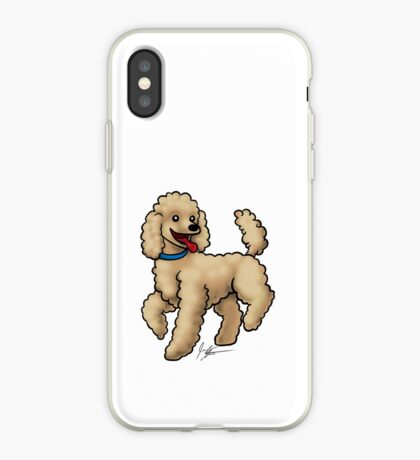 Poodle Brown iPhone Case