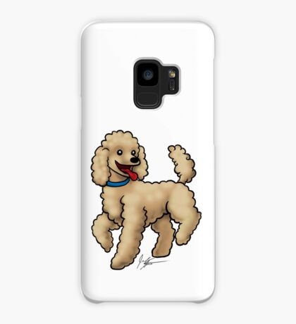Poodle Brown Case/Skin for Samsung Galaxy