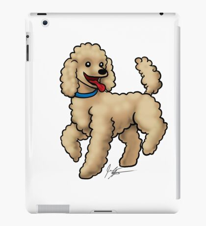 Poodle Brown iPad Case/Skin