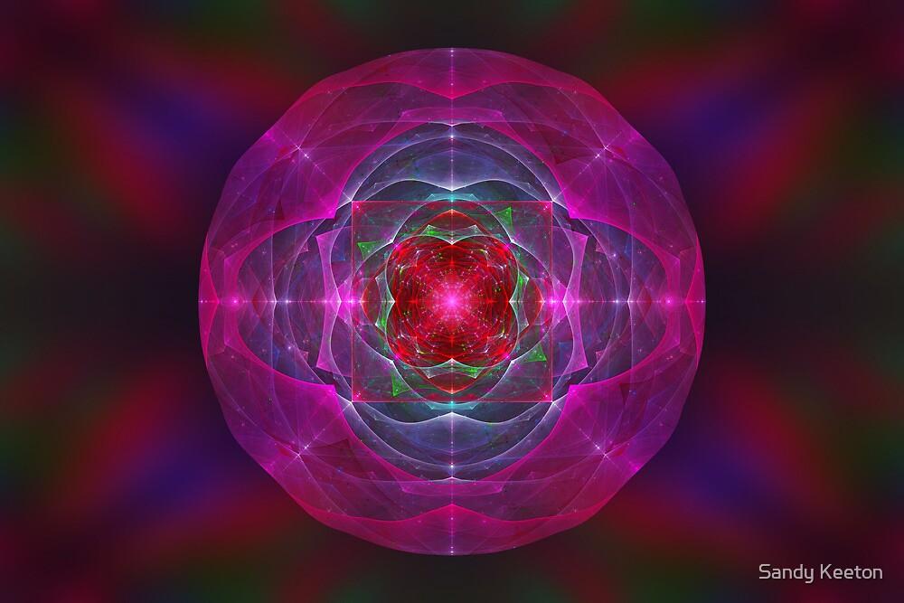 Foci Circle by Sandy Keeton