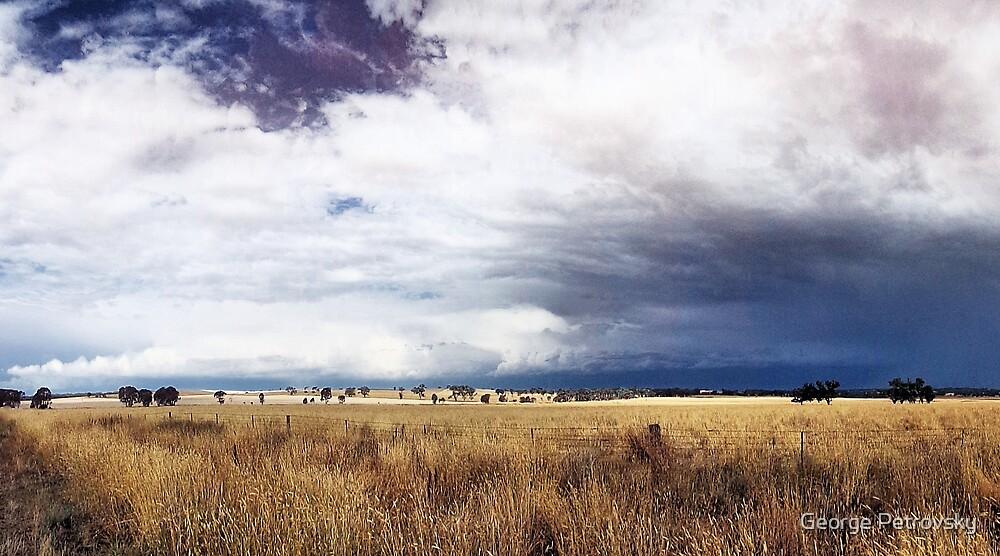 Cootamundra Storm Clouds by George Petrovsky