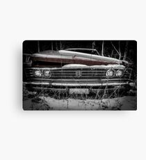 Parked for good... #4 Canvas Print