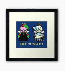 Grungy Angels Framed Print