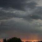 Monsoons over Arizona by Christine Frydenborg Dargon