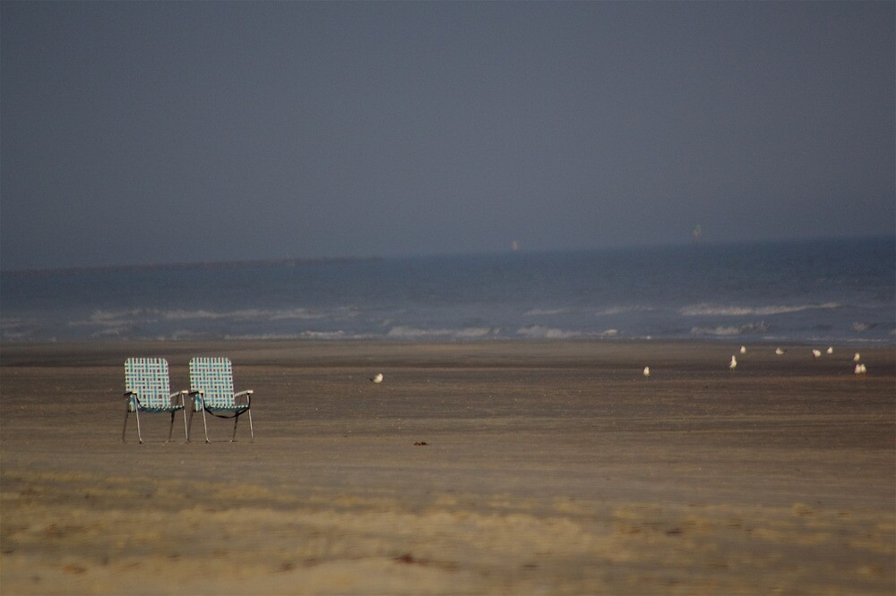 A Pair of Chairs - Huntington Beach State Park, South Carolina, USA by Edith Reynolds