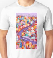 Around the bend Unisex T-Shirt