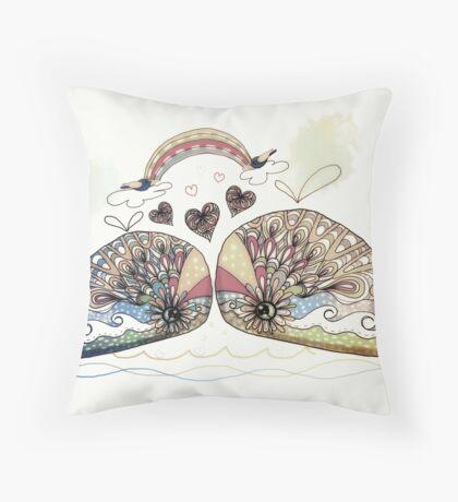 Love Sweet Love Throw Pillow