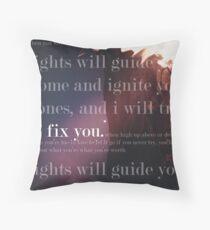 Fix You Print Throw Pillow