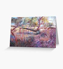 'Sunday Creek at Dochery's Road, Tallarook' Greeting Card