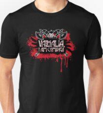 "Led Zeppelin ""Immigrant Song"" lyrics, ""Valhalla, I Am Coming!""  Slim Fit T-Shirt"