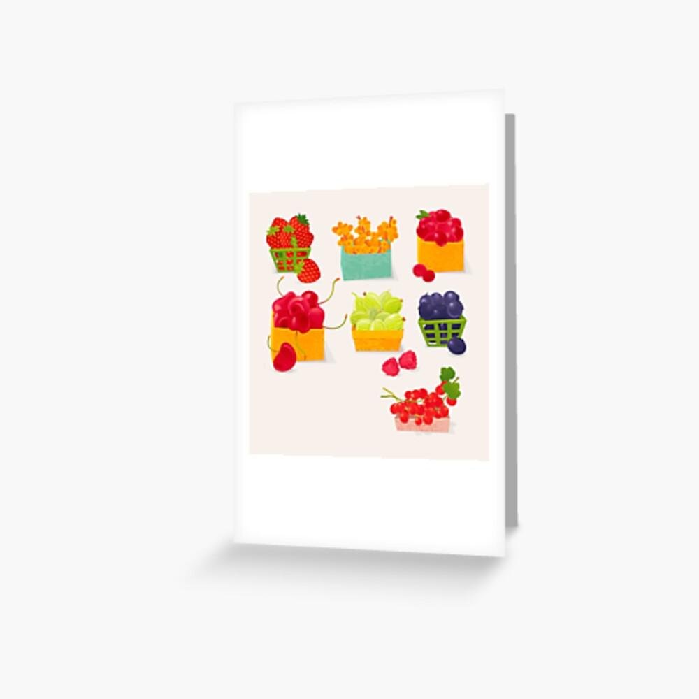 Sweet Berries Greeting Card