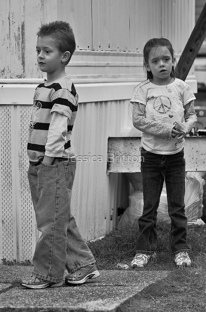 Befuddled Youngsters  by Jessica Britton
