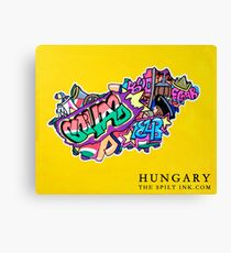 HUNGARY Canvas Print