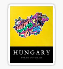 HUNGARY Sticker