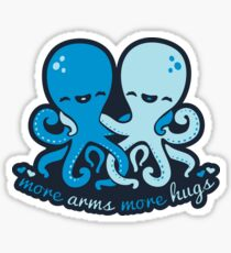More Arms More Hugs Sticker