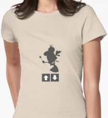 Downvote Fairy Women's Fitted T-Shirt