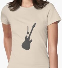 Guitar for Temperature Women's Fitted T-Shirt