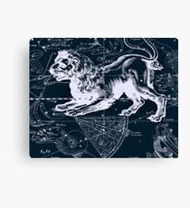 Leo Constellation Canvas Print