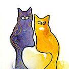 «Kitty Couple» de Bootsieskittys