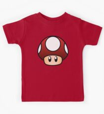 Super Mario Mushroom Kids Clothes
