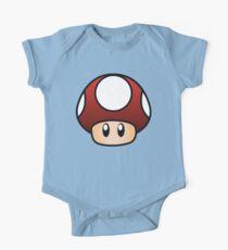 Super Mario Mushroom One Piece - Short Sleeve