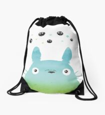 Totoro Drawstring Bag