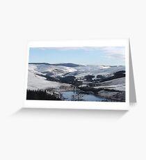 Bwlch Nant Yr Arian Cerdigion Mid Wales Greeting Card