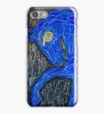 Blue Horse iPhone Case/Skin