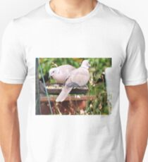 Two Doves Eating Bird Seeds T-Shirt