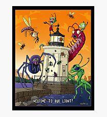 Invader Zim at Bug Light Photographic Print