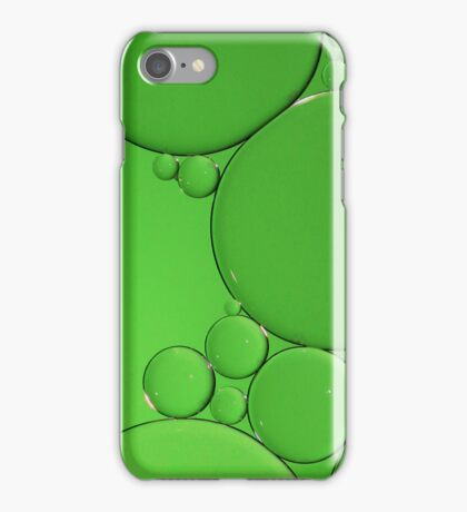 Green Bubbles iPhone Case/Skin
