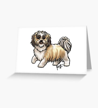 Shih Tsu Greeting Card