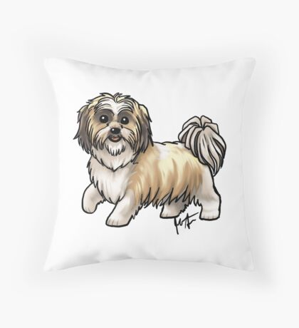Shih Tsu Throw Pillow