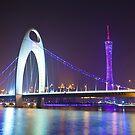 Guangzhou at night by kawing921