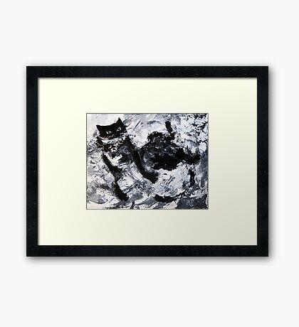 Rolling Over Framed Print