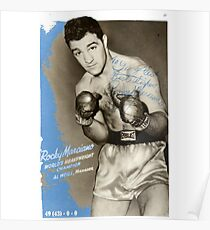 Rocky Marciano Poster