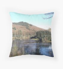 Bwlch Nant Yr Arian - Mid Wales Throw Pillow