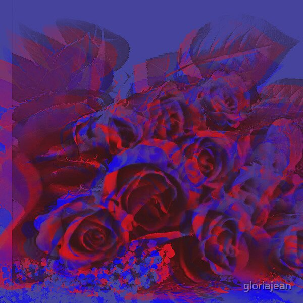 Blended Roses by gloriajean