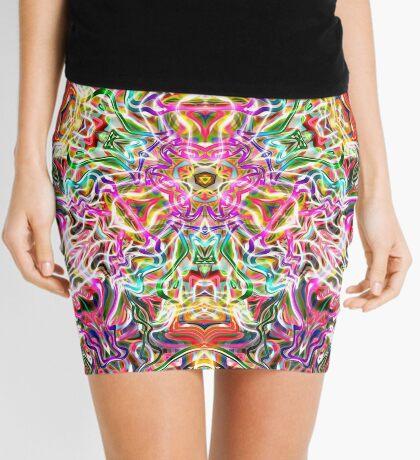 Arc & Texture Mini Skirt