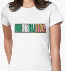 Abstraq Inc: NigeriAKA Women's Fitted T-Shirt
